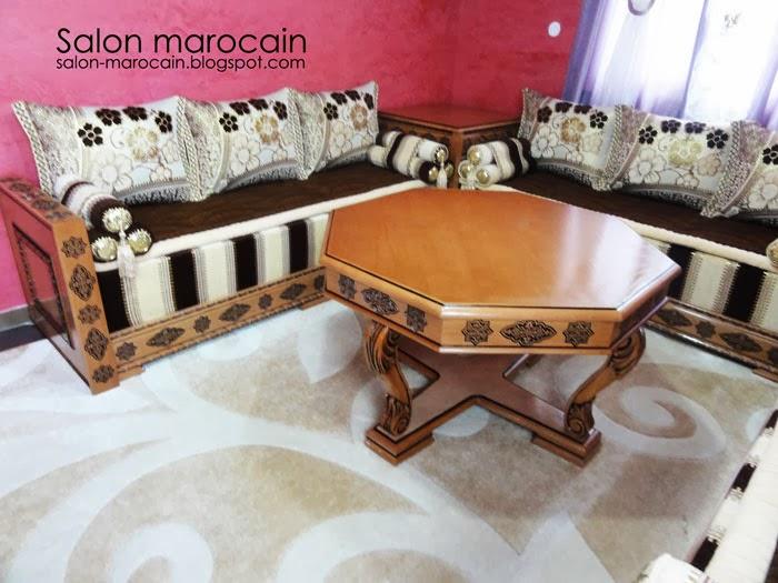 D coration salons marocain moderne 2013 salon marocain - Les salon marocain 2014 ...