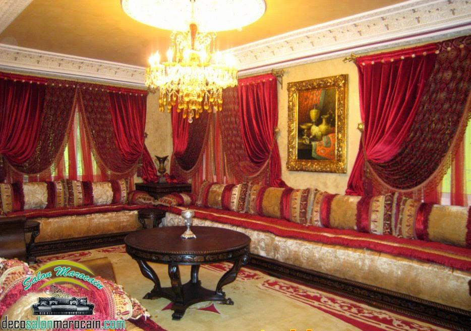 salon marocain traditionnel salon marocain moderne 2014 page 13. Black Bedroom Furniture Sets. Home Design Ideas