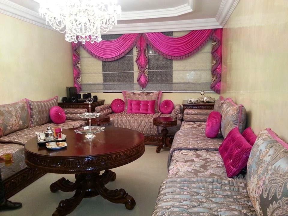 Salon marocain moderne 2014 d couvrez les salon marocain - Rideaux romantiques pas cher ...