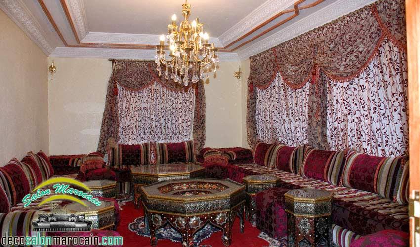 Salon marocain oriental salon marocain moderne 2014 for Salon traditionnel marocain vert