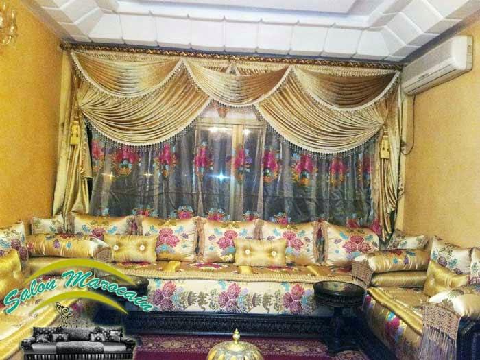 Salon marocain traditionnel salon marocain moderne 2014 - Les salon marocain 2014 ...